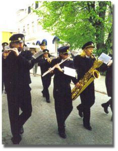 Trosa Stadsmusikkår när det började 2002?