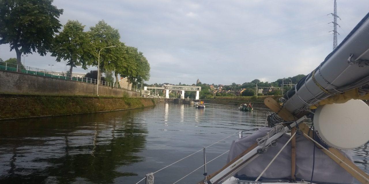 Namur – Courcelles – in i Frankrike igen